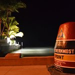 southernmost point at night