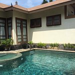 Breakfast pool and three bedroom villa pool