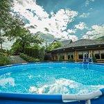 Rekreacyjny basen zewnętrzny dla dzieci