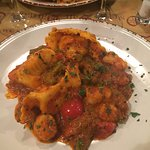 Ravioli stuffed with Sea Bass