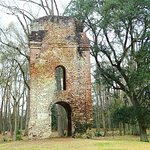 remains of church...the bell tower
