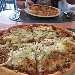 The Best pizza and starter you would ever want superb. Great value great food friendly staff and