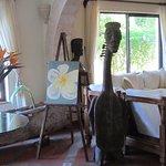 frangipani on canvas