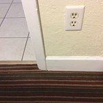 Carpet stinks and dirt on baseboards