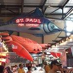 St Paul's fish