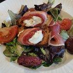 salade chevre et figues