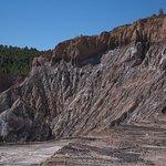 de camino a la mina