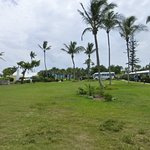 Hotel Grounds Above Beach