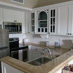 New refurbished kitchen area