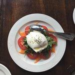 fresh mozeralla and tomato
