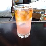 Complimentary rum punch...yum!