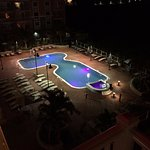 View Of The Outdoor Pool At Night