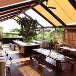 Eveleigh has an intimate garden patio serving farm-to-table cuisine