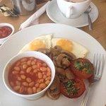 Breakfast was spot on