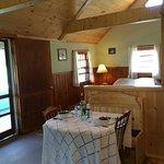 Interior of cabin #8
