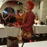 Muy rica y divertida cena medieval!!!!