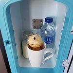 New dinky room fridges for keeping milk and water chilled (cheeky ice cream not included though