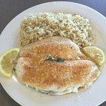 Broiled Fresh Flounder Du Jour