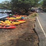 kayak adventure and snorkeling