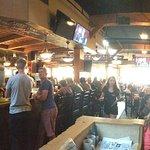 Bar scene and main restaurant
