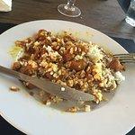 El pollo con curry y arroz