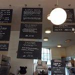 Cafe Kino's Menu (part of)