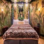 Jungle Theme Suite with King Size Bed & Overhead Mirrors
