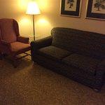 Older furniture and carpet