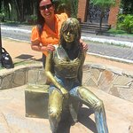 Brigitte Bardot Statue Foto