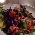 Shrimp salad is wonderful