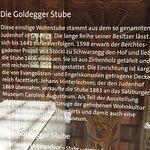 Goldegger Stube in the museum