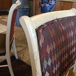 Threadbare chair