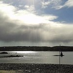 View from the Boardwalk Cafe, the best view in Clifden