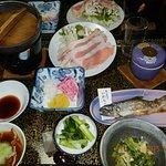 豪華な夕食で、大満足でした。