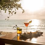 Aperitifs on the beach - X2 Koh Samui Resort-All Spa Inclusive