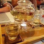 thé à la rose....