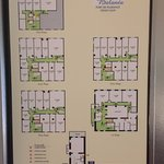 Hotel Floors and Room plan