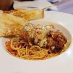 Spaghetti Parmigiana
