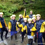 All enjoyed the Ghyll Scramble