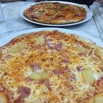 Hawaiian Pizza and a Mozzarella
