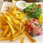 Le tartare de saumon