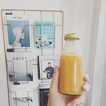 Fresh juice made daily