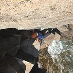 very nice climbing session on otter clift