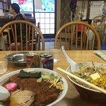 Pork special ramen & butter corn miso