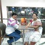 Mr&Mrs RK in Temptation Pizza Parlour