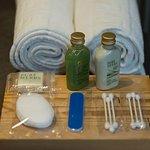 Badezimmerausstattung - attrezzatura del bagno