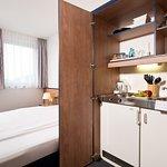 Zimmer mit Kitchenette