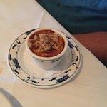 Creme Brulee with Pecan Pralines