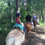 Great wranglers to give the best trail rides possible. We loved those girls who were always on t