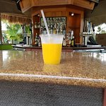 "The ""pool side"" bar. I think it was called Coconuts. TVs, pool table, ping pong"